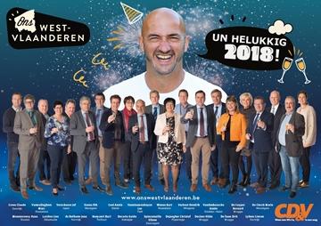 'Helukkig 2018' van provincieraadfractie CD&V
