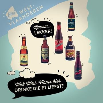 Welk West-Vlaams bier drink jij het liefst?