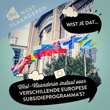 Europese subsidieprogramma's