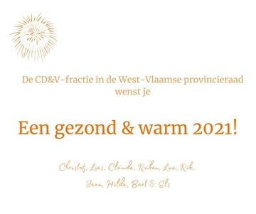 Een gezond en warm 2021!